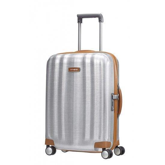 Куфар на 4 колела Samsonite Lite-Cube DLX 55 см цвят алуминий