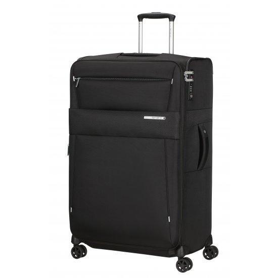 Куфар на 4 колела Samsonite Duopack 78 см с разширение, черен