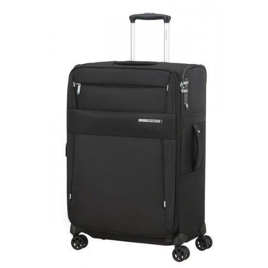 Куфар на 4 колела Samsonite Duopack 67 см с разширение, черен