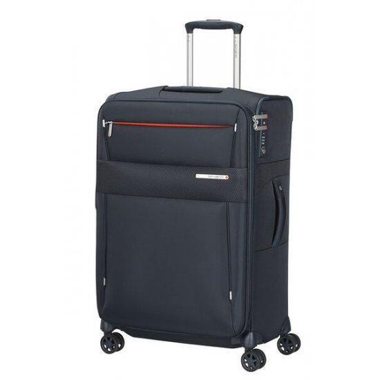 Куфар на 4 колела Samsonite Duopack 67 см с разширение, син