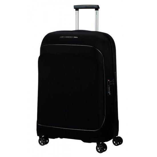 Куфар на 4 колела 82cm с разширение Samsonite Fuze, черен