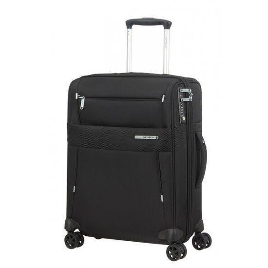 Куфар за ръчен багаж на 4 колела Samsonite Duopack 55см с разширение, черен
