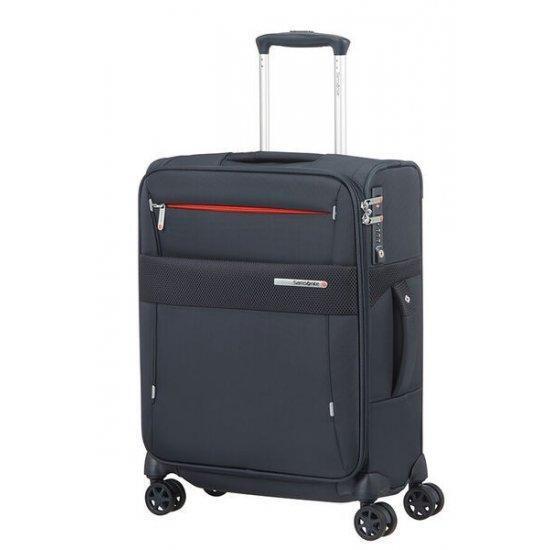 Куфар за ръчен багаж на 4 колела Samsonite Duopack 55см с разширение, син