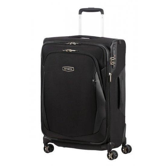Куфар на 4 колела Samsonite X'blade 4.0 63cm с разширение, черен