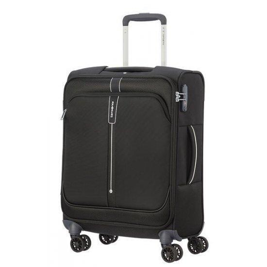 Куфар на 4 колела Samsonite Popsoda 55 см, черен