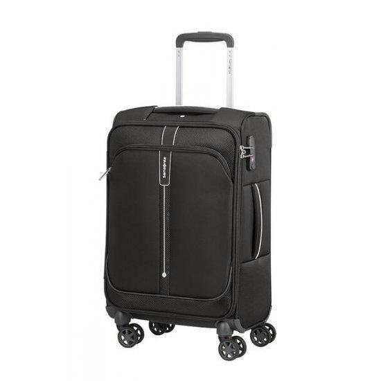 Куфар на 4 колела Samsonite Popsoda 55 Х 35 см, черен