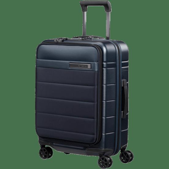 "Куфар на 4 колела Samsonite 55 см за 15.6"" лаптоп и разширение, тъмносин"