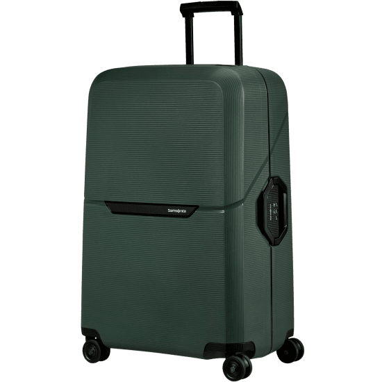 Куфар на 4 колела Samsonite Magnum Eco 75 см, зелен
