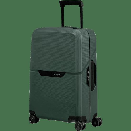 Куфар на 4 колела Samsonite Magnum Eco 55 см, зелен
