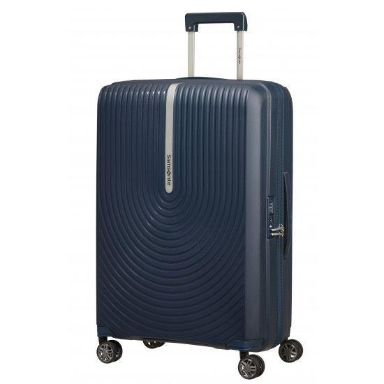 Куфар на 4 колела Samsonite Hi-Fi 68 см с разширение, тъмносин