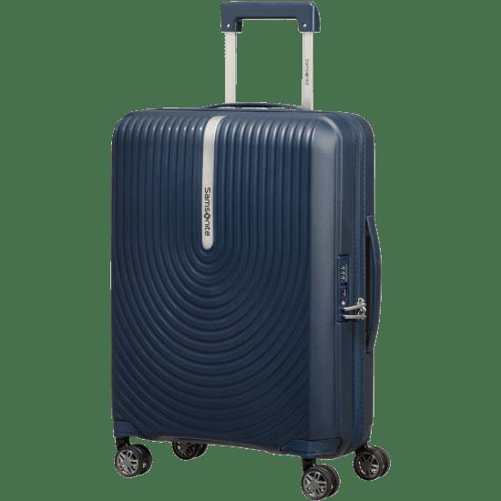 Куфар на 4 колела Samsonite Hi-Fi  55 см с разширение, тъмносин