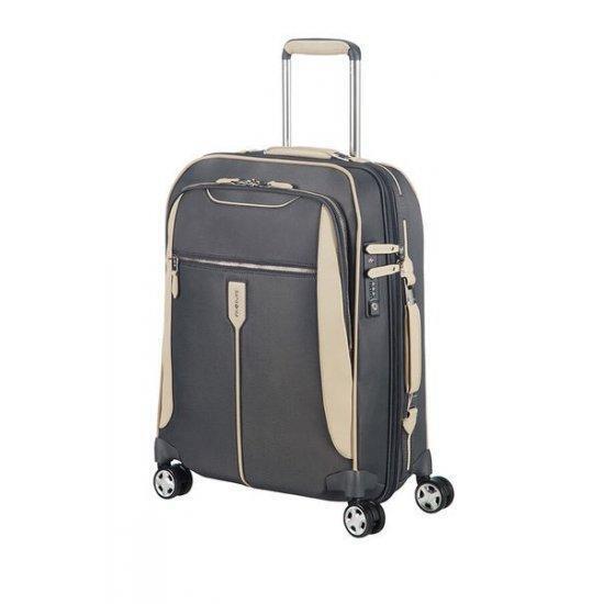 Куфар на 4 колела Samsonite Gallantis 55 cm с разширение, сив