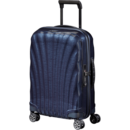 Куфар на 4 колела Samsonite C-Lite  55 cm, тъмносин