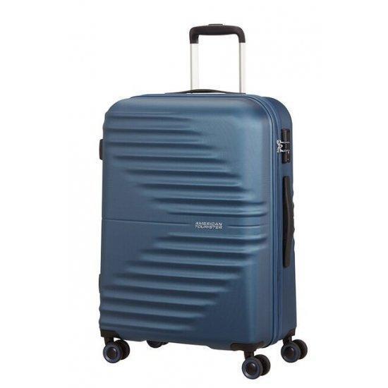 Куфар на 4 колела American Tourister Wavetwister 66 см. тъмносин