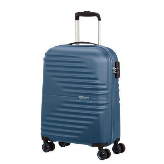 Куфар на 4 колела American Tourister Wavetwister 55 см. тъмносин
