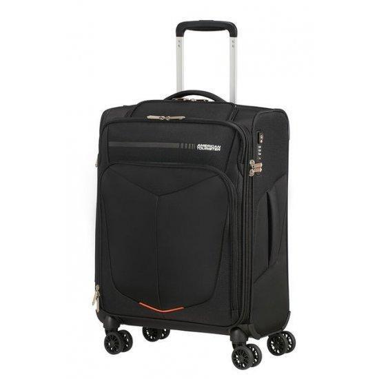 Куфар на 4 колела 55 см. American Tourister Summerfunk, черен