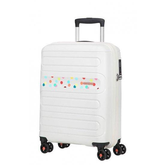 Куфар на 4 колела American Tourister Sunside Polka Dot 55cm