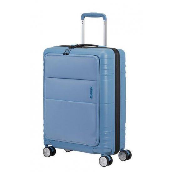 Куфар на 4 колела American Tourister Hello Cabin 55 см светло, син