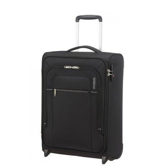 Куфар на 2 колела American Tourister Crosstrack 55 см черно и сиво