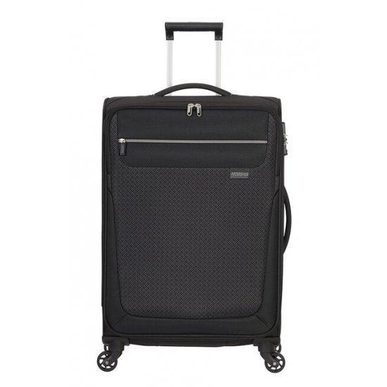 Куфар на 4 колела American Tourister Sunny South  67 см ,черен
