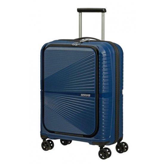 """Куфар на 4 колела American Tourister Airconic 55cm с отделение за 15.6"""" лаптоп, тъмносин"""