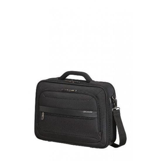 Черна бизнес чанта Samsonite Vectura EVO за 15.6 инчов лаптоп