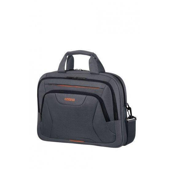 Чанта за 15.6″ лаптоп American Tourister Work сиво и оранжево