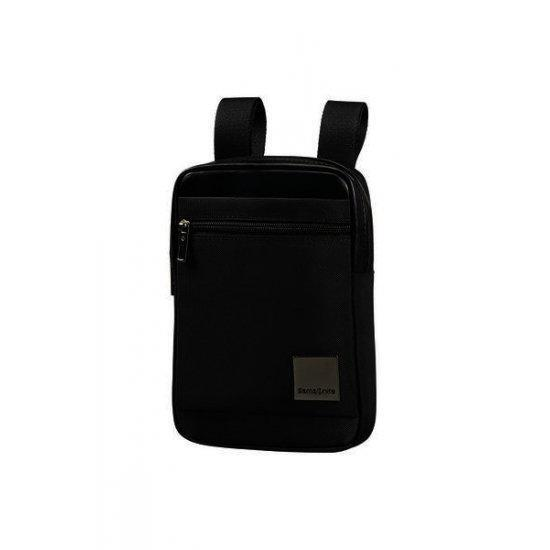 Черна чанта за рамо Samsonite Hip-Square Размер S