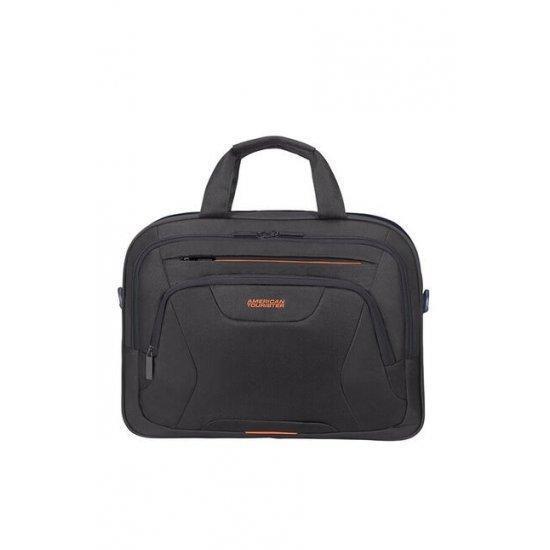 Чанта за 15.6″ лаптоп American Tourister Work черно и оранжево