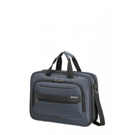Синя бизнес чанта Samsonite Vectura EVO за 15.6 инчов лаптоп