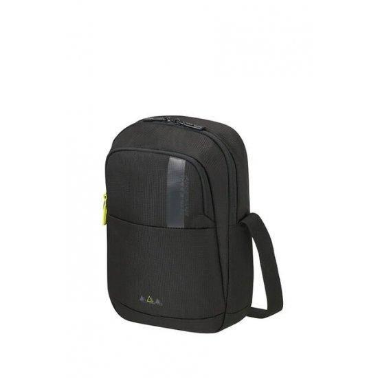 "Чанта за през рамо American Tourister Work-Е за 9.7"" инчов таблет, черна"