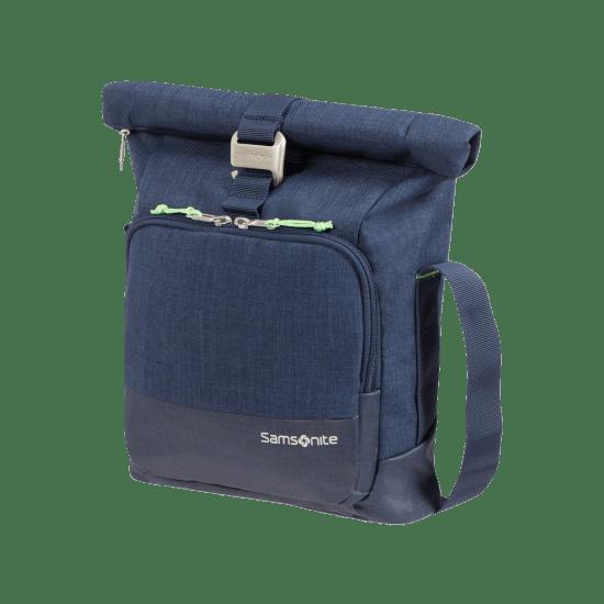 """Чанта за през рамо за 10.6"""" инчов таблет Samsonite Ziproll, тъмносиня"""