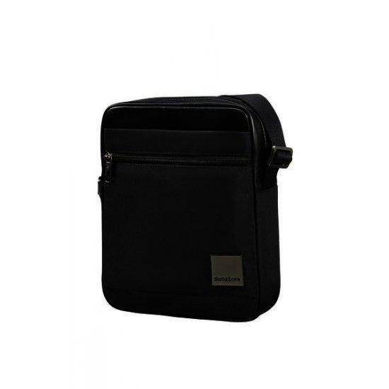 Черна чанта за рамо Samsonite Hip-Square Размер M за 7,9 инча таблет