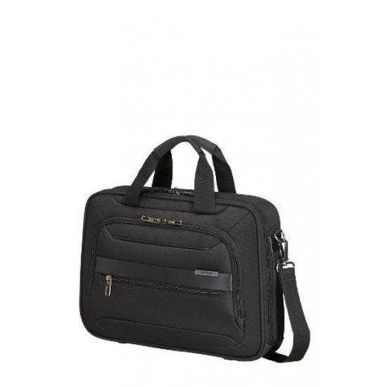 Черна бизнес чанта Samsonite Vectura EVO за 14.1 инчов лаптоп