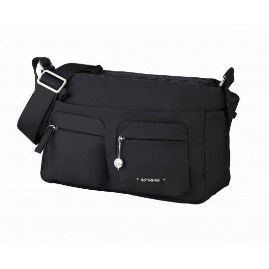 Хоризонтална дамска чанта Samsonite Move 3.0, черна