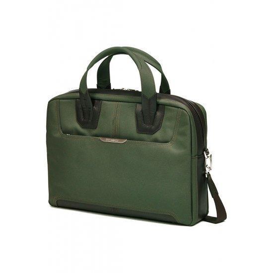 Бизнес чанта за 15.6 инча лаптоп Samsonite Sidaho, размер S, зелена