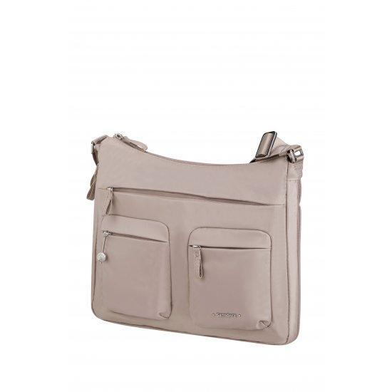 Дамска чанта с разширение Samsonite Move 3.0 размер М, светлорозова