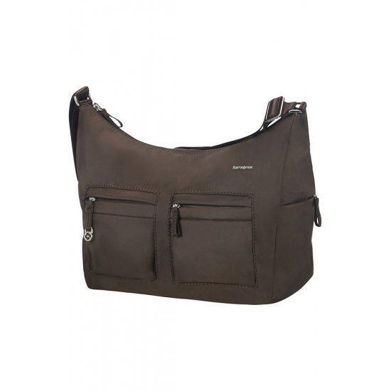 Дамска чанта с два джоба Samsonite Move 2.0 размер М, тъмнокафява