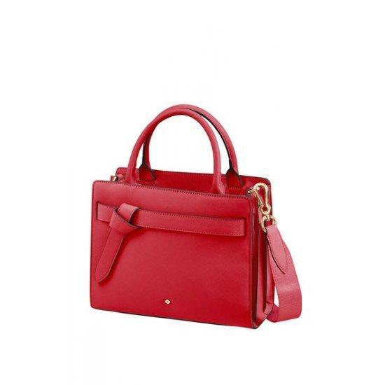 Дамска чанта за през рамо My Samsonite размер S, червена