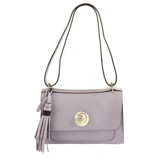 Дамска чанта за през рамо Samsonite Leathizia, тaupe