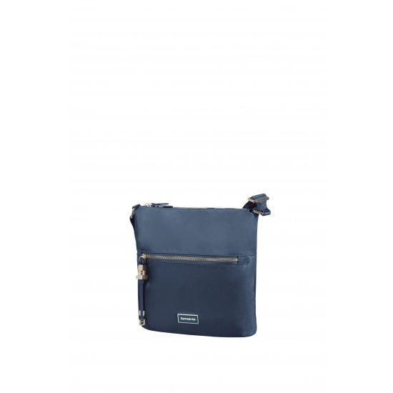 Дамска чанта за през рамо Samsonite Karissa, синя