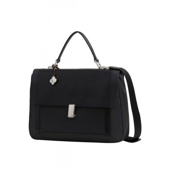 Бизнес чанта с капак Samsonite S-Teem за 14,1 инчов лаптоп, черна