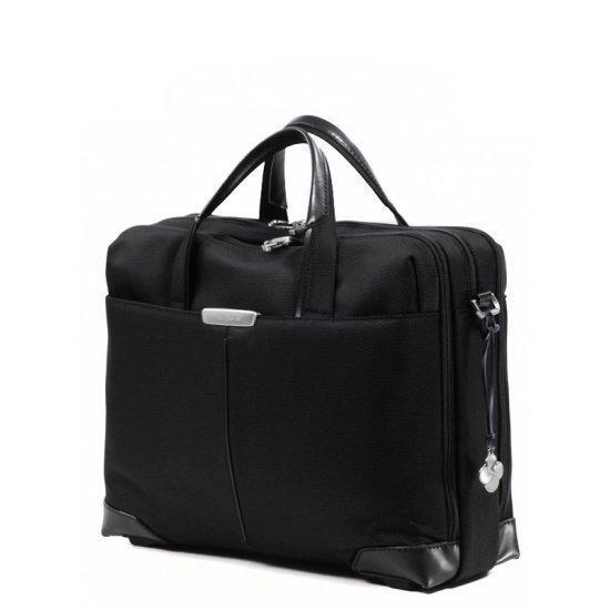 Бизнес чанта с 3 отделения Samsonite S-Oulite за 15,6 инча лаптоп, черна