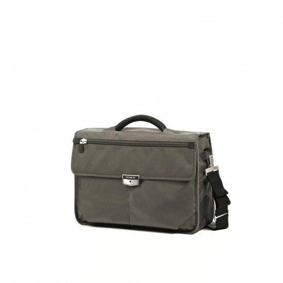 Бизнес чанта с две прегради Samsonite Avior за 16 инча лаптоп, сива