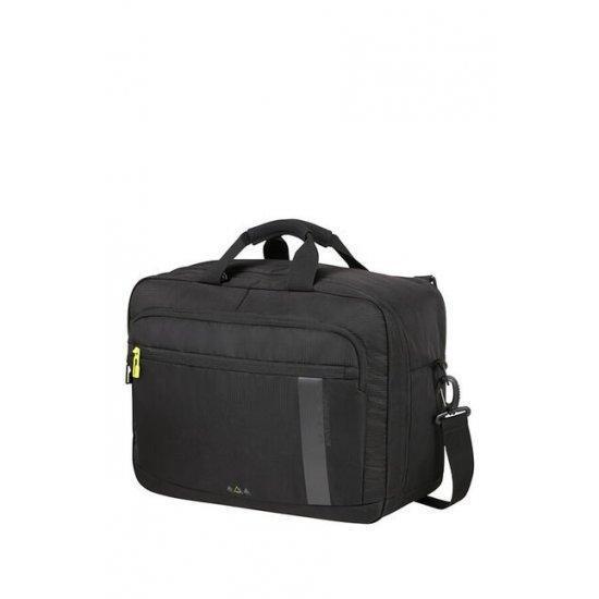 """Бордна чанта/раница за 15.6"""" лаптоп American Tourister Work-Е, черна"""