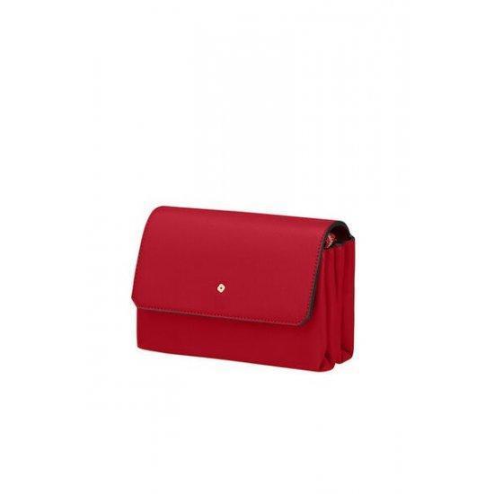 Дамска чанта за кръст Samsonite Seraphina 2.0, червена