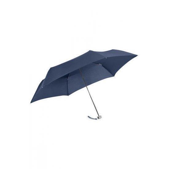 Мини тройно сгъваем ръчен чадър Samsonite Rain Pro, тъмносин
