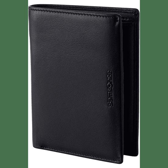 Портфейл от естествена кожа Samsonite Success 2 SLG 13CC и RFID защита, черен