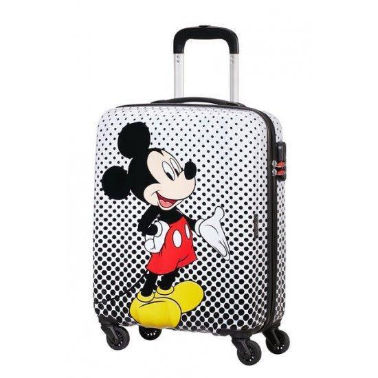 Куфар на 4 колела American Tourister Disney Legends Take Mickey Mouse Polka Dot 55 Х 40 см