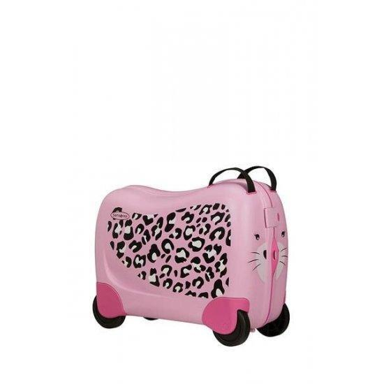 Куфар на 4 колела Samsonite Dreamrider 39 см. Леопард
